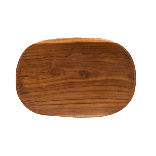 Teak Wood Plate / Serving Platter Oval