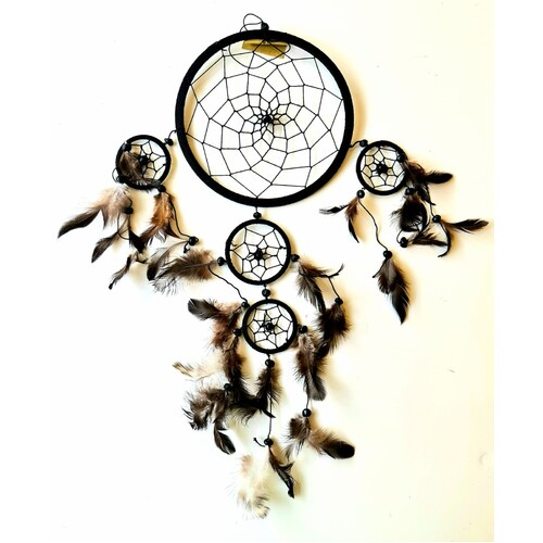 Brown & Black Dream Catcher