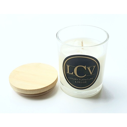 Japanese Honeysuckle Scented Candle - Made From Coconut & Pure Soy 150g